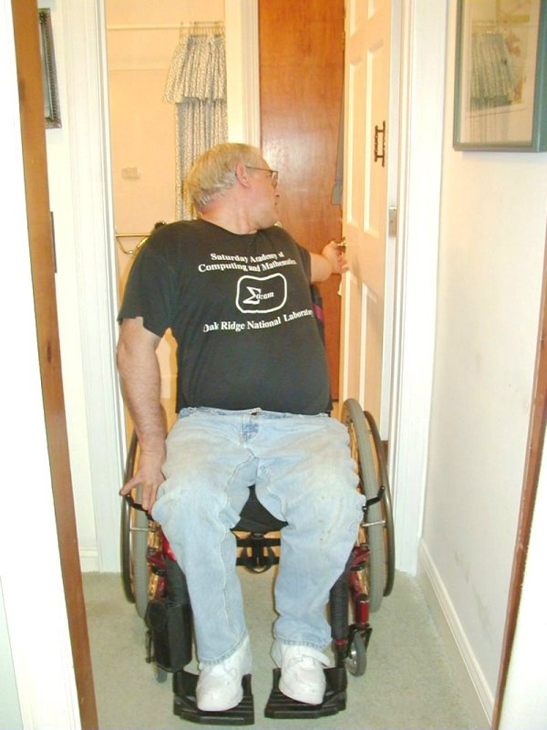 Closing a door can be Inconvenient & Closing Doors while in a Wheelchair